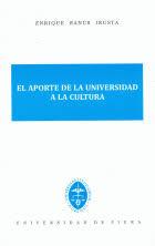 El aporte de la universidad a la cultura