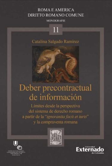 Deber precontractual de información