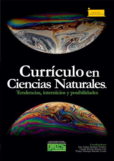 Portada de la publicación Currículo en Ciencias Naturales.