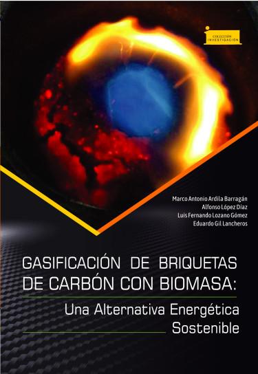 Portada de la publicación Gasificación de briquetas de carbón con biomasa: