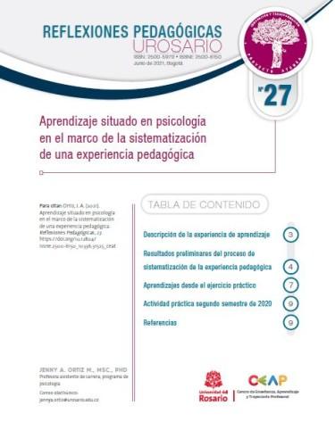 Reflexiones Pedagógicas N°27