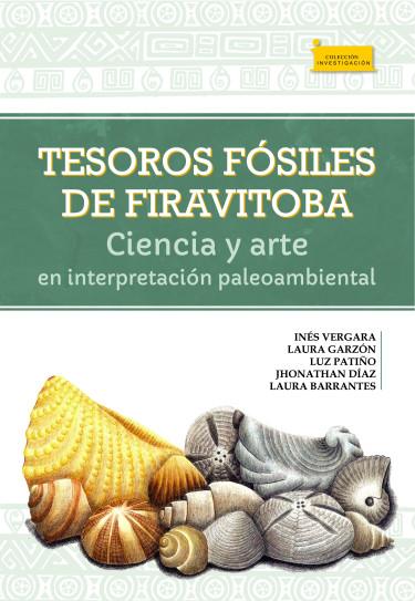 Portada de la publicación Tesoros fósiles de Firavitoba.