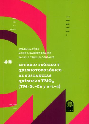Estudio teórico y quimiotopológico de sustancias  químicas TMOn (TM=Sc-Zn y n=1-4)