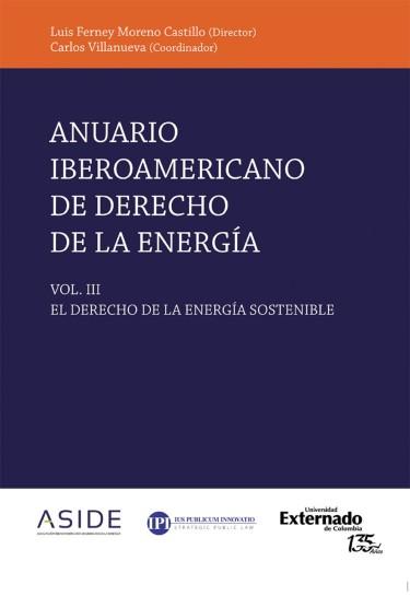 Anuario Iberoamericano de derecho de la energía