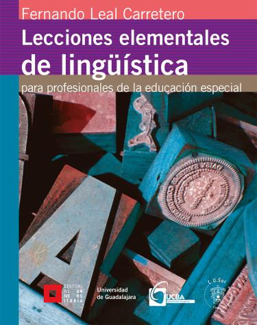 Lecciones elementales de lingüística para profesionales de la educación especial