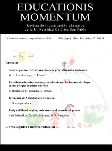 Educationis Momentum, volumen 4, n. 1, setiembre de 2018
