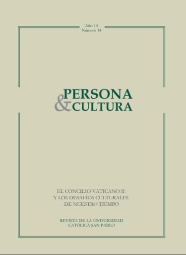Revista Persona y Cultura, año 14, n.14