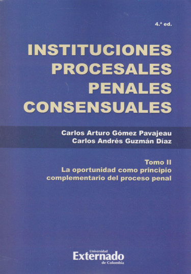 Instituciones Procesales Penales Tomo. II
