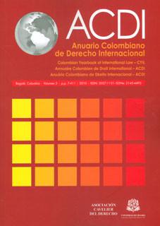 Anuario Colombiano de Derecho Internacional ACDI. Vol. 03