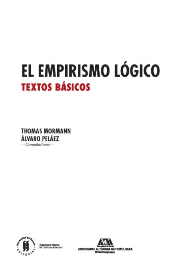 El empirismo lógico. Textos básicos