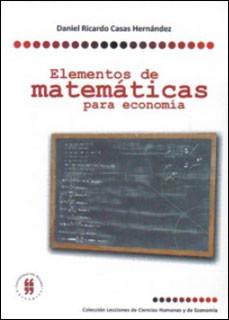 Elementos de matemáticas para Economía