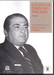 Estudios de derecho privado. Tomo I