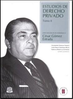 Estudios de derecho privado. Tomo II
