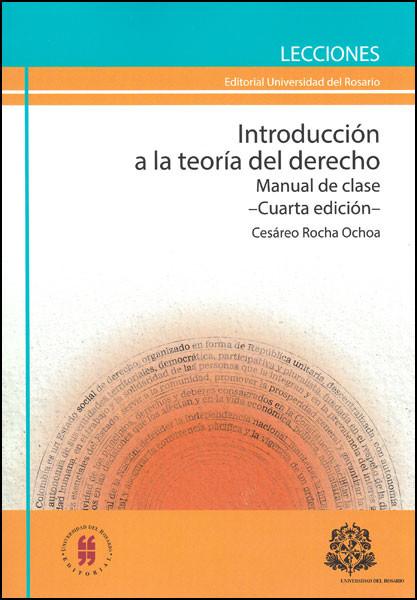 Introducción a la teoría del derecho. Manual de clase