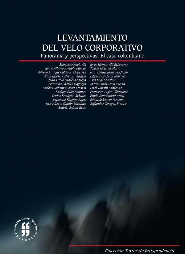 Levantamiento del velo corporativo. Panorama y perspectivas. El caso colombiano