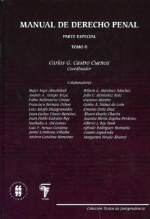 Manual de derecho penal: parte especial, tomo II