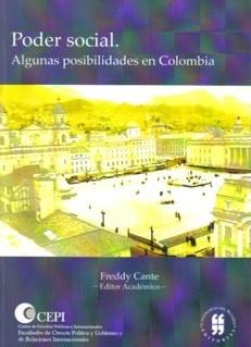 Poder social. Algunas posibilidades en Colombia