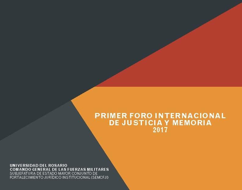 Primer foro internacional de justicia 2017
