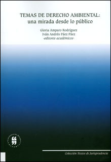 Temas de derecho ambiental: una mirada desde lo público