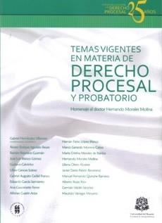 Temas vigentes en materia de derecho procesal y probatorio. Homenaje al doctor Hernando Morales Molina