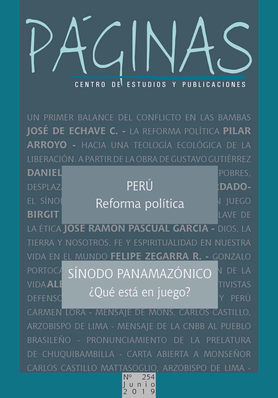 Revista Páginas No. 254