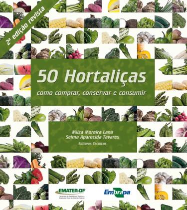 E-book 50 Hortaliças: como comprar, conservar e consumir
