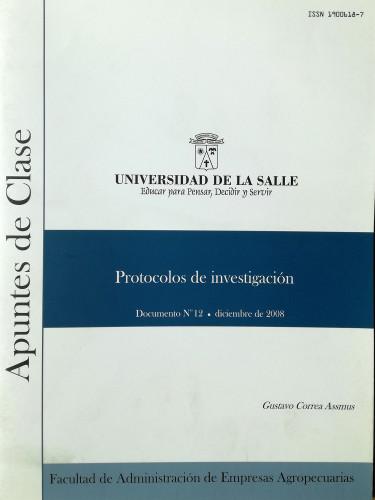 Protocolos de investigación