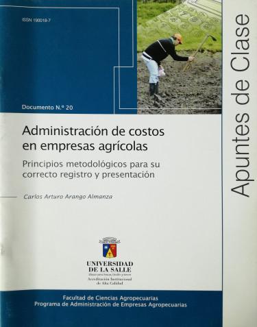 Administración de costos en empresas agrícolas