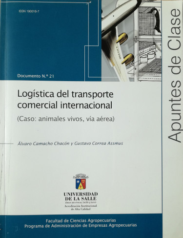 Logística del transporte comercial internacional