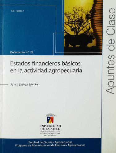 Estados financieros básicos en la actividad agropecuaria