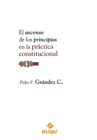 El ascenso de los principios en la práctica constitucional