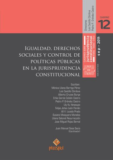 Igualdad, derechos sociales y control de políticas públicas en la jurisprudencia constitucional