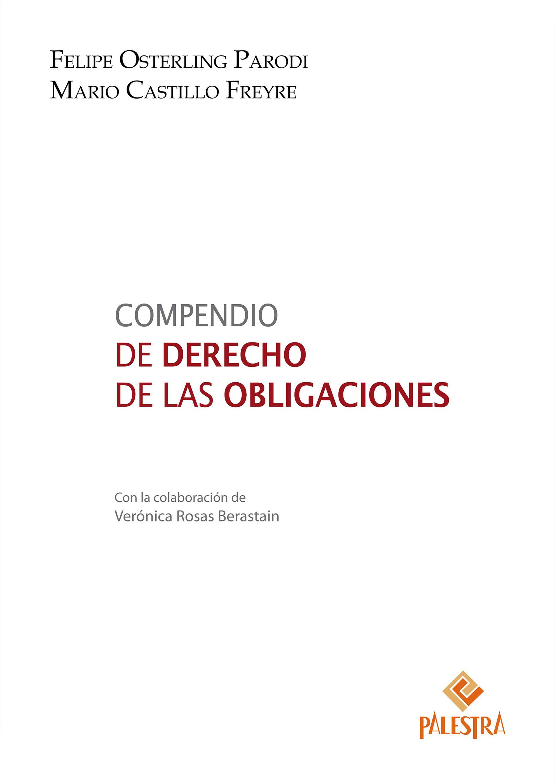 Compendio de Derecho de las Obligaciones