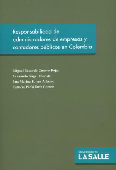 Responsabilidad de administradores de empresas y contadores públicos en Colombia
