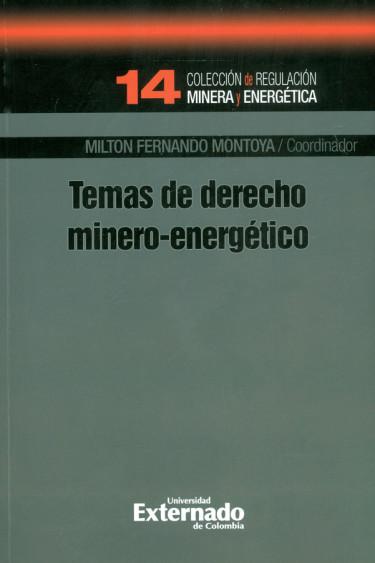 Temas De Derecho Minero-Energético