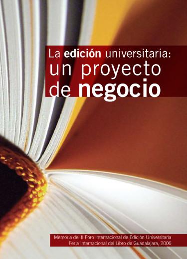 La edición universitaria. Un proyecto de negocio