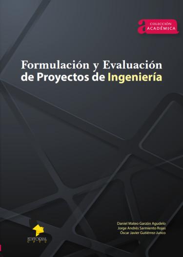 Formulacion y evaluación de proyectos de ingeniería