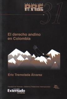 El derecho andino en Colombia