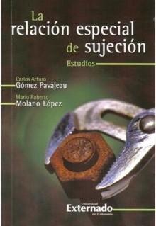 La relación especial de sujeción. Estudios
