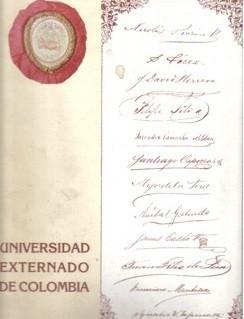 Universidad Externado de Colombia. Cien años de educación para la libertad. 1886 - 1986