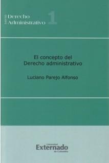 El concepto del derecho administrativo
