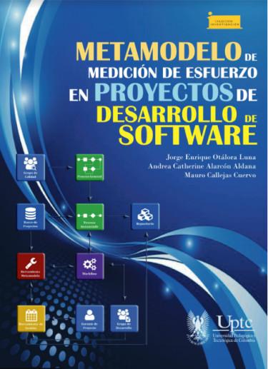 Portada de la publicación Metamodelo de medición de esfuerzo en proyectos de desarrollo de software