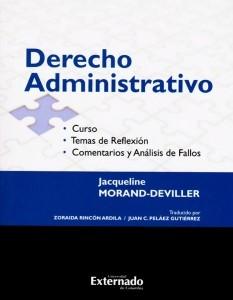 Derecho Administrativo. Curso. Temas de reflexión.