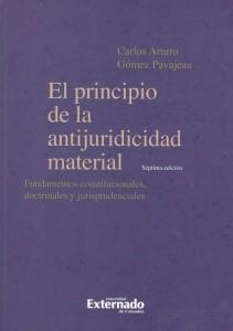 El principio de la antijuridicidad material. Fundamentos constitucionales, doctrinales y jurisprudenciales.