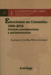 Elecciones en Colombia: 1990-2018.