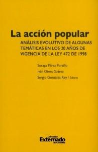 La acción popular. Análisis evolutivo de algunas temáticas en los 20 años de vigencia de la ley 472 de 1998