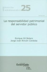 La responsabilidad patrimonial del servidor público