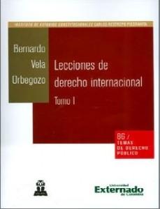 Lecciones de derecho internacional. Tomo I