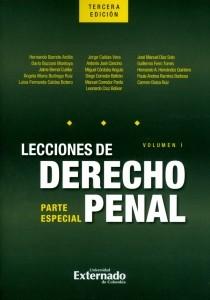 Lecciones de derecho penal: Parte especial. Volumen I.