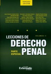Lecciones de derecho penal: Parte especial. Volumen II.
